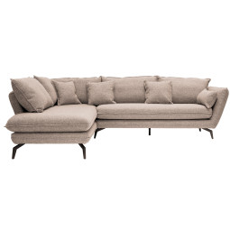 Nuuck Kvinde Sofa bank met chaise longue links Fast 01 Natural