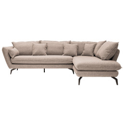Nuuck Kvinde Sofa bank met chaise longue rechts Fast 01 Natural