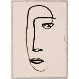 Paper Collective Serious Dreamer poster incl. eiken lijst 50x70