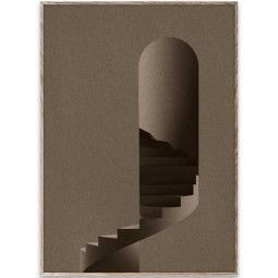 Paper Collective The Tower poster incl. eiken lijst 50x70