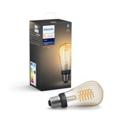 Philips Hue Philips Hue Filament ST64 lichtbron E27 Bluetooth