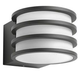Philips Hue Philips Hue Lucca White wandlamp LED antraciet IP44