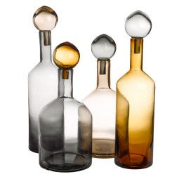 Pols Potten Bubbles & Bottles woondecoratie set van 4