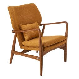Pols Potten Outlet - Chair Peggy fauteuil ochre