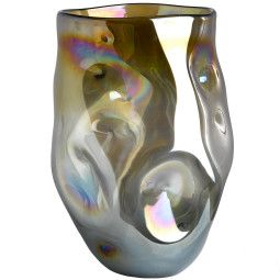Pols Potten Vase collision amber L