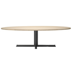 QLiv Cross tafel ovaal 260x110