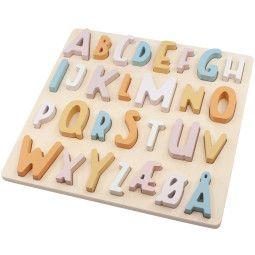 Sebra ABC houten puzzel