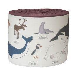 Sebra Arctic Animals bedbumper