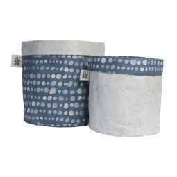 Sebra Paper mand (set van 2)