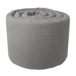 Sebra Outlet - Quilted bedbumper grijs