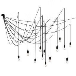 Seletti Tweedekansje - Maman hanglamp LED dimbaar, lichtbronnen transparant