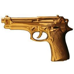 Seletti My Gun Gold Edition woondecoratie