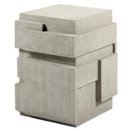 Serax Concrete bijzettafel grijs