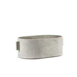 Serax Pot concrete oval plantenbak large
