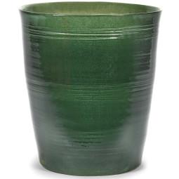 Serax Pot lines bloempot groen large
