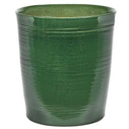 Serax Pot lines bloempot groen small
