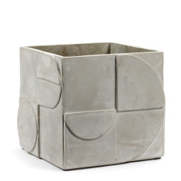 Serax Seventies grey concrete large plantenbak