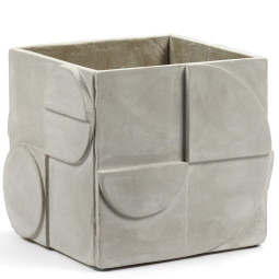 Serax Seventies grey concrete small plantenbak