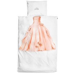 Snurk Prinses dekbedovertrek roze 140x220