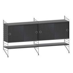 String Furniture Dressoir medium, zwart