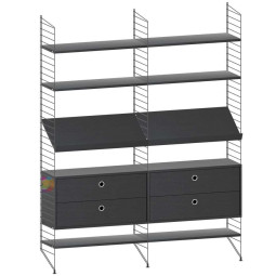 String Furniture Woonkamer configuratie 3