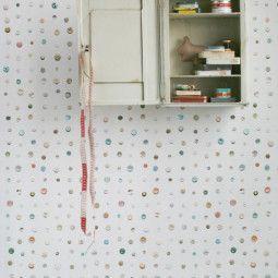 Studio Ditte Tweedekansje - Knopen behang