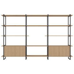 Studio HENK Modular Cabinet MC-5L wandkast 290x185