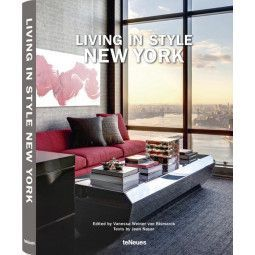teNeues Living in Style New York tafelboek