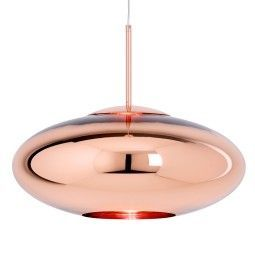 Tom Dixon Copper Wide hanglamp koper