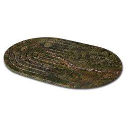 Tom Dixon Rock serveerplateau ovaal