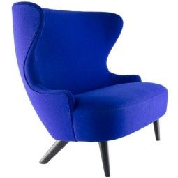 Tom Dixon Wingback Micro Black bank