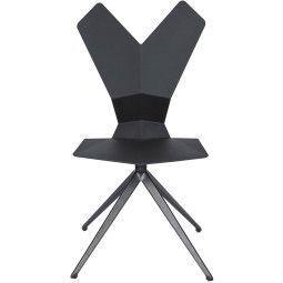 Tom Dixon Y Chair stoel met draaibaar onderstel
