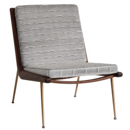 &tradition Boomerang HM1 Fauteuil Walnoot
