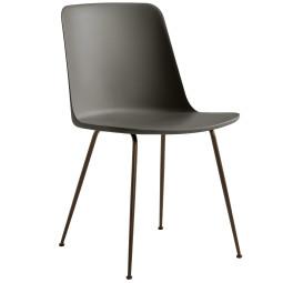 &tradition Rely HW6 stoel bronzed onderstel