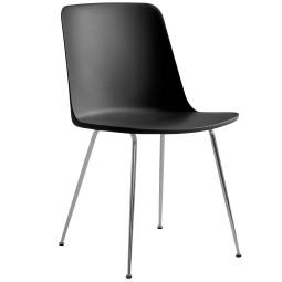 &tradition Rely HW6 stoel chroom onderstel