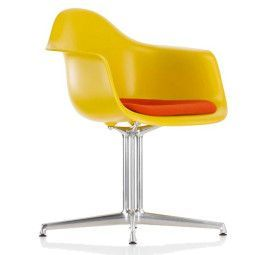 Vitra Eames DAL stoel met zitkussen