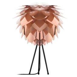 Umage Silvia tafellamp met zwart onderstel