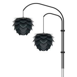 Umage Willow Double wandlamp zwart