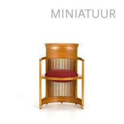 Vitra Barrel Chair miniatuur