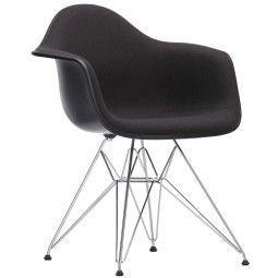 Vitra Eames DAR gestoffeerde stoel
