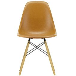 Vitra Eames DSW Fiberglass stoel esdoorn goud, nieuwe kleuren