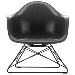 Vitra Eames Fiberglass LAR loungestoel onderstel zwart