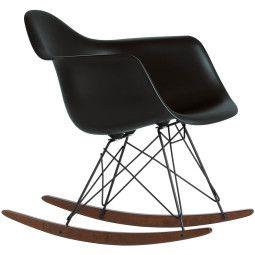 Vitra Outlet - Eames RAR schommelstoel met donker onderstel basic dark