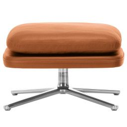 Vitra Grand Relax Ottoman chroom gepolijst