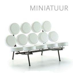 Vitra Marshmallow Sofa miniatuur