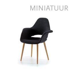 Vitra Organic Armchair miniatuur