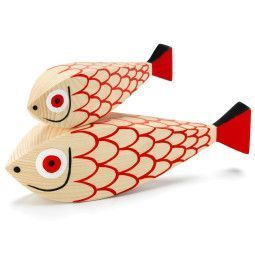 Vitra Wooden Dolls Fishes collectors item
