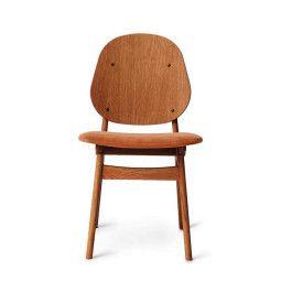 Warm Nordic Noble stoel gestoffeerd