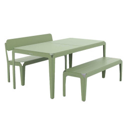 Weltevree Bended tuinset Pale Green 180x90