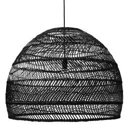 HKliving Outlet - Wicker hanglamp large zwart